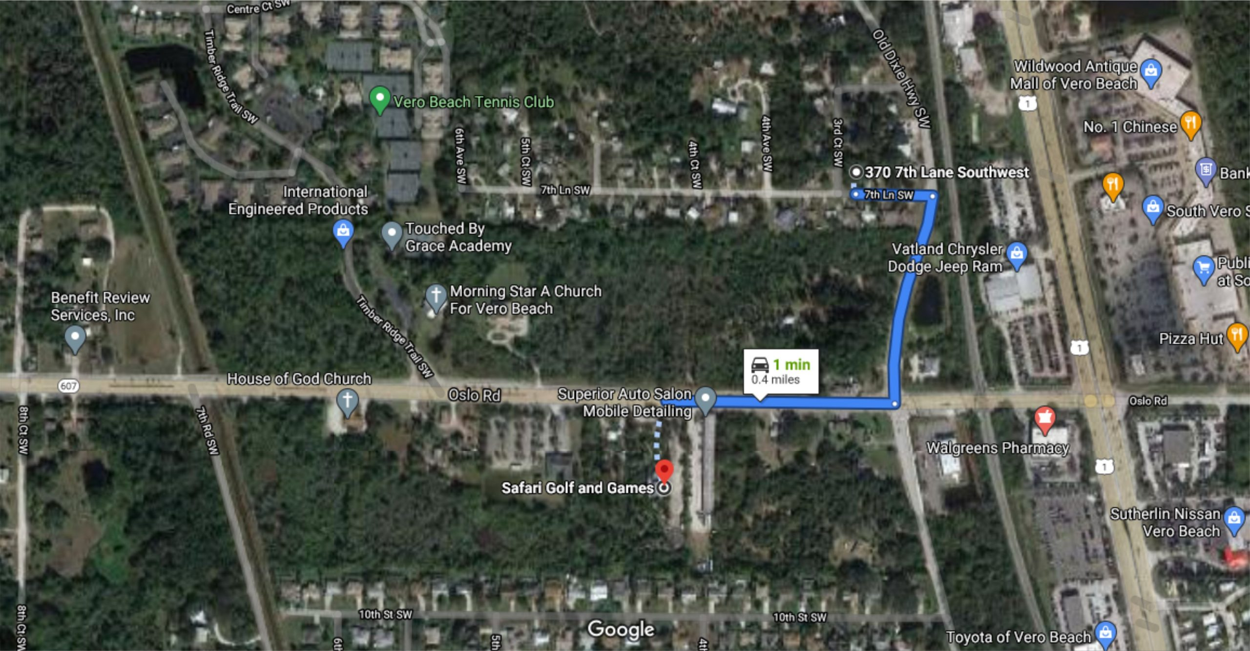 LOT NO. 2020-8 / 70 – 370 7TH LN SW, VERO BEACH, FL 32962